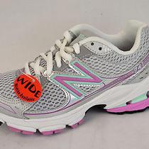 New in Box 52 New Balance Kj741gpy Girl's Grey/pink Athletic Sneaker us10.5w Photo