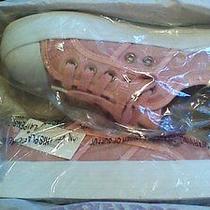 New in Box Aeropostale Ladies Low Top Platform Sneakers Rose Blush Sz 7  Photo