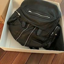 New in Box Alexander Wang Marti Backpack Black Leather Suede/nickel Photo