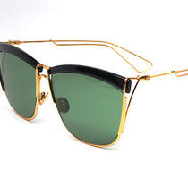New in Box Authentic Dior So Electric 0my2 Black/yellow/gold Sunglasses  Photo