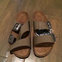 New in Box Birkenstock Arizona Lack Fossil Size 38 Photo