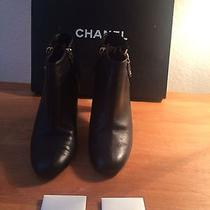 New in Box Chanel Silver Logo Photo