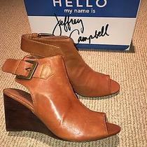 New in Box Jeffrey Campbell Gorgeous Brown Leather Booties Size 8.5 Photo