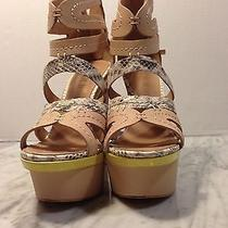 New in Box l.a.m.b. Jenelle Wedges-Size 6 Photo