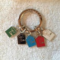 New in Box Lacoste Enamel Keyring With 5 Shirts Photo