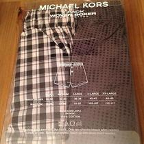 New in Box Michael Kors 100% Cotton 2 Pack Boxer Set Photo