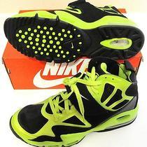 New in Box Nike Mens Air Max Express Shoe (Sz 10.5 525224 Blk / Grn 155) Photo