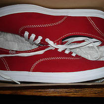 New in Box Red Women Keds Shoes Photo