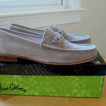 New in Box Sam Edelman Talia Loafers Putty Suede 10 40 Photo