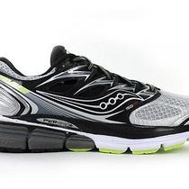 New in Box Saucony Hurricane Iso Mens Running Shoe Silver Black 9.5 D S20259-3  Photo