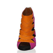 New  in Box Schutz Fulvia Ankle Boot Orange Photo
