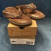 New in Box Tommy Bahama Mens Anchors Away Brown Flip-Flops Sandals 12 Medium Photo