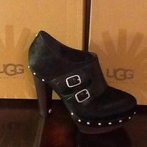 New in Box Ugg Australla W Illana Black Size 7 Photo
