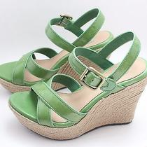 New in Box Ugg Jackilyn 7.5 Green Wedges Photo