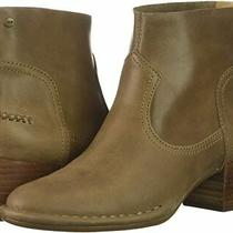 New in Box Womens Ugg Bandara Ankle Sahara Brown Leather Booties Boots Size 8 Photo