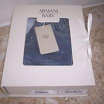New in Gift Box Armani Baby Jeans 12 Mo Photo