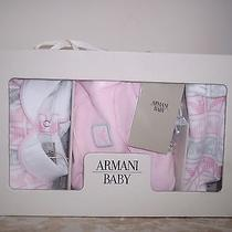 New in Gift Box Armani Signature 3 Piece Set 3 Mos Photo
