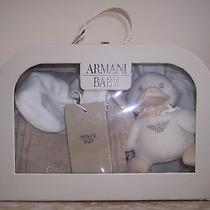 New in Gift Box Armani Signature 4 Piece Set 3 Mos Photo
