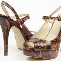 New Inc International Concepts Us 7.5 M 'Marielapk2' Tropical Snakeskin Sandals Photo