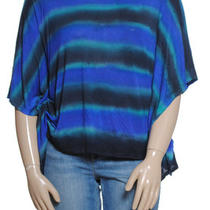 New Inc Tie Dye Batwing Boxy Tee Sz L 60 Photo