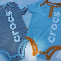 New Infant Crocs Oneies Photo