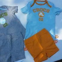 New Infant Crocs Short Sets Photo