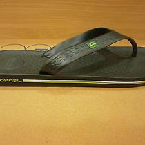 New Ipanema Grendene Flip Flops Mens Sandals Shoes Summer Toe Black Blue Sizes  Photo