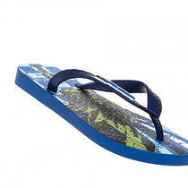 New Ipanema Kids Flip Flops Temas V/vi Blue Boys Sandals Shoes Summer All Sizes Photo