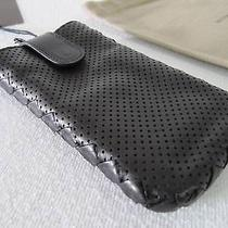 New Iphone 5 Leather Black Cover Case Bottega Veneta Authentic Photo