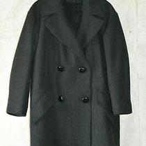 New Isabel Marant Pour h&m Women's Black Grey Coat Oversize Padding Size 38 Us 8 Photo