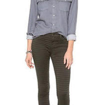 New J Brand Jeans 187  485 Prism Jacquard Super Skinny in Mica Sz 30 Photo