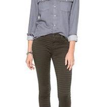 New J Brand Jeans 187  485 Prism Jacquard Super Skinny in Mica Sz 26 Photo