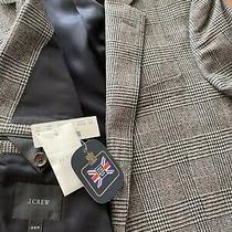 New J. Crew Ludlow Glen Plaid Suit Jacket 36r 600 Nwt Moon Wool British Blazer Photo