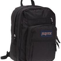 New Jansport Big Student Classic Backpack Black Book Bag  Photo