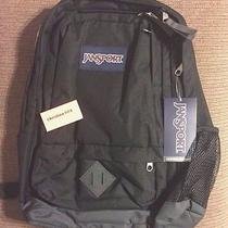 New Jansport Black Backpack With 15