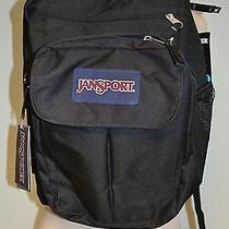 New Jansport Black  Frggry Digital Student Backpack  Bag College Laptop  Photo