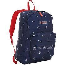 New Jansport Red Tape Land Ahoy Superbreak Backpack Back to School Book Bag Photo