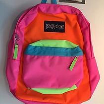 New Jansport Superbreak School Backpack Multi Bright Colors 48 Retail Photo