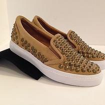 New  Jeffrey Campbell  7  Alva  Havana Last  Studded Sneaker Loafer W Box Photo