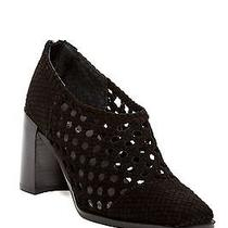 New Jeffrey Campbell Aceline Woven Ankle Bootie Black Women Size 6 185 Photo