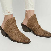 New Jeffrey Campbell/free People Harley Woven Mule Size  7 Photo