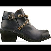 New Jeffrey Campbell Morrison Distressed Leather Studded Boot Sz 6 225 Sold Out Photo