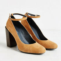 New Jeffrey Campbell Oralie Ankle Strap Heel Size 9 Msrp 140 Suede Photo