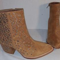 New Jeffrey Campbell Taupe Bravado Ey Heels Booties Boots Womens Us 6 Photo