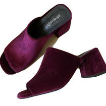 New Jeffrey Campbell Velvet Slides Mules 8 Photo