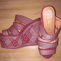 New Jeffrey Campbell Wedge Sandal Size 9.5 Photo