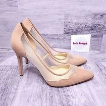 New Jessica Simpson Pescanta Mesh Stiletto Blush Pink 10 Photo