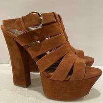 New Jessica Simpson Size 9 Block Heel Platform Sandal Photo