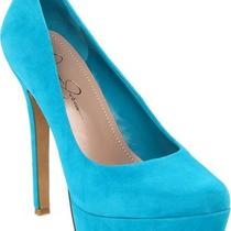 New Jessica Simpson Waleo Aqua Pump Womens Shoe 7.5 M Photo