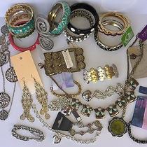 New Jewelry Bracelets Lot 24pc Urban Outfitters C Wonder ny&co Pilgrim Vera Wang Photo